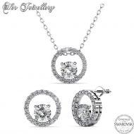Σετ Κολιέ & Σκουλαρίκια Desiree της Her Jewellery