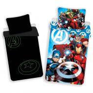 Avengers Παιδικά Σεντόνια Που Λάμπουν στο Σκοτάδι !  - Σετ Παιδικά Σεντόνια 100% Βαμβακερά - skroutz.com.cy