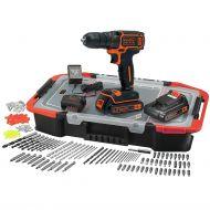 Δραπανοκατσάβιδο 18V με 2 μπαταρίες + 160 accessories - Black & Decker - skroutz.com.cy
