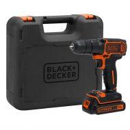 Black & Decker Δραπανοκατσάβιδο 18V με Μπαταρία και Φορτιστή 400mA με Κασετίνα BDCD18K-QW - skroutz.com.cy