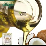 Βιολογικό Ακατέργαστο 100% Παρθένο Λάδι Καρύδας, Green Foods 500ml - etherio bio stores - skroutz.com.cy