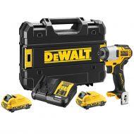 DEWALT - DCF801D2 Παλμικό Κατσαβίδι 12V (2x2.0Ah Μπαταρίες) - skroutz.com.cy
