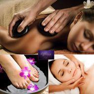 Hot Stone Μασάζ + Περιποίηση προσώπου + Reiki + Detox Spa για Πόδια στο Effleurage Beauty & Spa-Λευκωσία