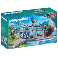 Ταχύπλοο Λαθροκυνηγών με Κλουβί Δεινοσαύρων PL9433 Playmobil - skroutz.com.cy