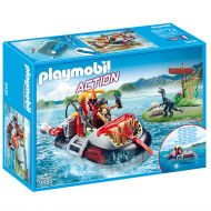 PLAYMOBIL 9435 Χόβερκραφτ Με Εξερευνητές Δεινοσαύρων - skroutz.com.cy