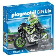 Playmobil Μοτοσικλέτα παντός εδάφους με αναβάτη 70204 - skroutz.com.cy