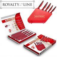 Σετ με 5 Ελβετικά Μαχαίρια Royalty Line από Ανοξείδωτο Ατσάλι - skroutz.com.cy