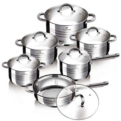 Σετ Μαγειρικών Σκευών Blaumann 12 τμχ BL-1410