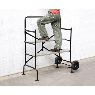 Πτυσσόμενη Ατσάλινη Τροχήλατη Σκαλωσιά 140 x 78 x 135 cm 40020000 - skroutz.com.cy