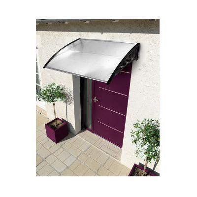Πλαστικό Κιόσκι - Τέντα Πόρτας Εισόδου 80 x 100 cm Χρώματος Λευκό 30060134 - skroutz.com.cy