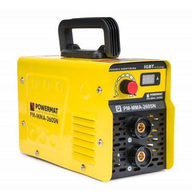 Ηλεκτροκόλληση Inverter 260A 230V IGBT POWERMAT PM-MMA-260SN - skroutz.com.cy