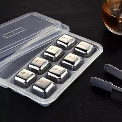 Σετ παγάκια από ανοξείδωτο ατσάλι - 304 Stainless Steel Ice Cube Set