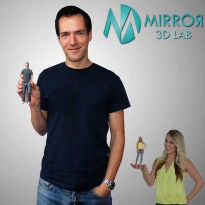Mirror 3D Lab | Make a 3D printed figurine | 3D portraits | 3D selfie figure The 3D Miniatures Shop | Skroutz Cyprus