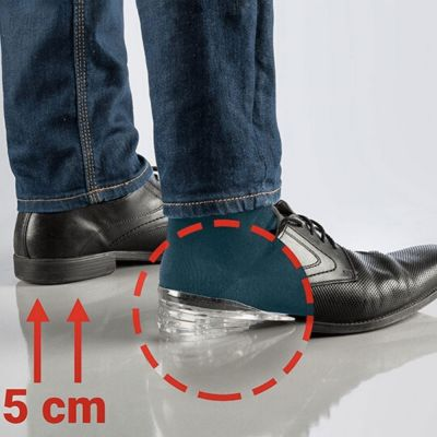 Πάτοι Σιλικόνης για αύξηση ύψους για να δείχνετε ψηλότεροι, ανυψωτικές σόλες για το εσωτερικό του παπουτσιού με τακούνι 5cm Btall 55277