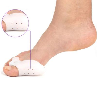 Προστατευτικό σιλικόνης για το κότσι και τους κάλλους / 2τεμάχια – Silicone Foot Protector - 21090