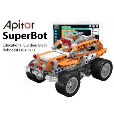 Εκπαιδευτικό Ρομπότ Apitor SuperBot 18-σε-1! - skroutz.com.cy