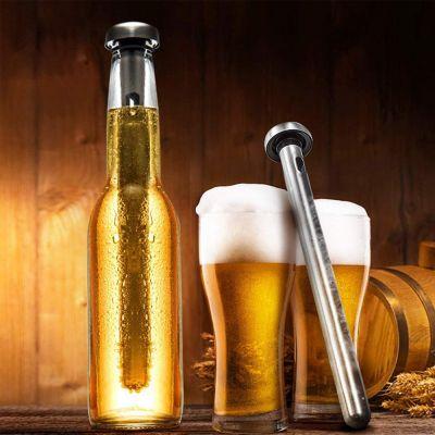 chiller stick wine and beer - Chiller Stick από Ανοξείδωτο χάλυβα για Γρήγορο Πάγωμα Κρασιού ή Μπύρας - skroutz.com.cy