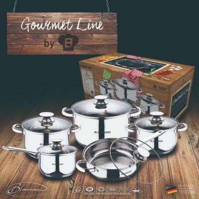 Σετ Μαγειρικών Σκευών Blaumann Gourmet Line 10 τμχ BL-1637