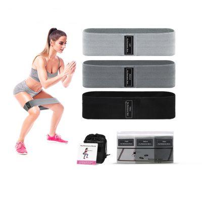 Υφασμάτινες Ζώνες Αντίστασης Ισχίου - Body Building Exercise Fabric Hip Resistance Circle hip bands - skroutz.com.cy