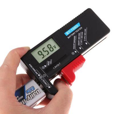 ψηφιακός μετρητής μπαταριών 1.5v και 9v με οθόνη – oem bt-168d - skroutz.com.cy