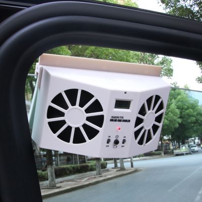 Solar Car Powered Fan Cooler - skroutz.com.cy