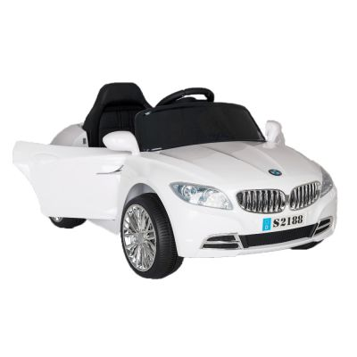 Kids car white s2188 2x6v 4 ah b/o r/c