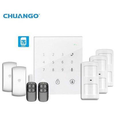 Συναγερμός CHUANGO GO2 με Δυνατότητα Ελέγχου από το Smartphone σας - skroutz.com.cy