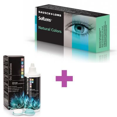 SofLens Natural Colors + Υγρό Cooper Vision All In One Light 360 ml - Skroutz.com.cy - contact lenses cyprus