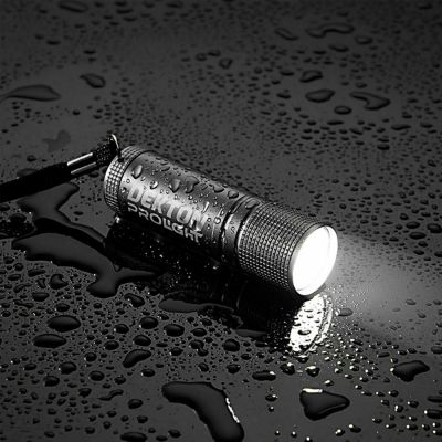 Dekton DT50558 Pro Light Xf35 Tracker Flashlight Waterproof 35 Lumen LED Torch - Color Black