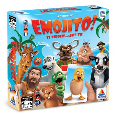 Desyllas Games - Επιτραπέζιο - Emojito! 100574 - skroutz.com.cy