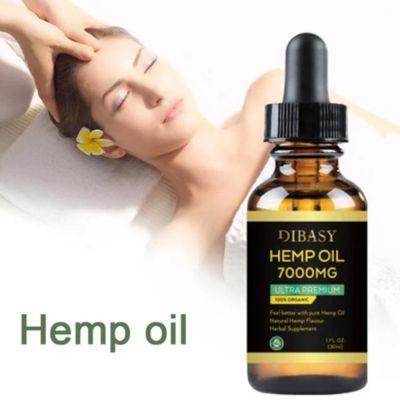 Βιολογικό Έλαιο Hemp Oil 7000mg - Dibasy Organic Hemp Oil 7000mg