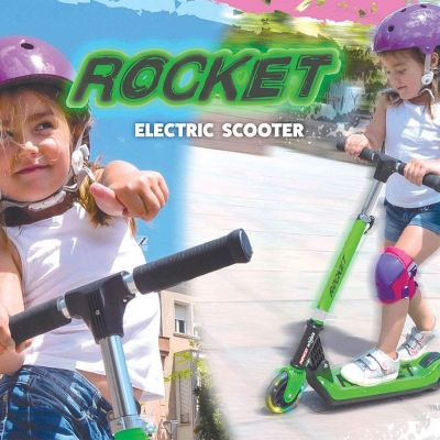NINCO E-SCOOTER JR ROCKET GREEN - ORANGE NH33006 - skroutz.com.cy
