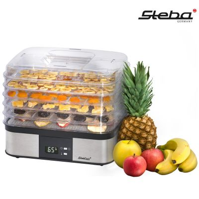 Ψηφιακός Αποξηραντής Φρούτων και Τροφίμων - Steba Electronic Dehydrator ED 5 - skroutz.com.cy