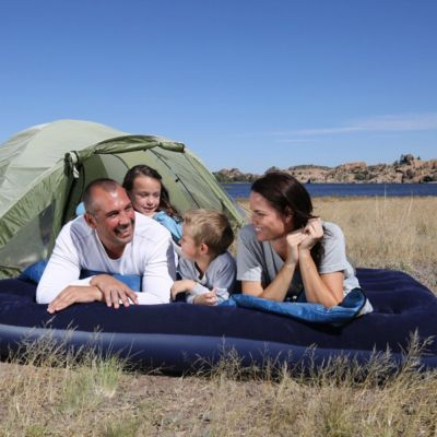 bestway inflatable double mattress for camping - skroutz.com.cy