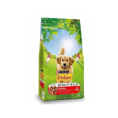 FRISKIES ACTIVE ADULT ΜΕ ΒΟΔΙΝΟ 4KG - skroutz.com.cy