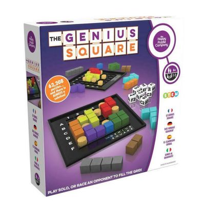 The Genius Square – Game of The Year Award Winner! 60000+ Solutions STEM Puzzle Game! - skroutz.com.cy