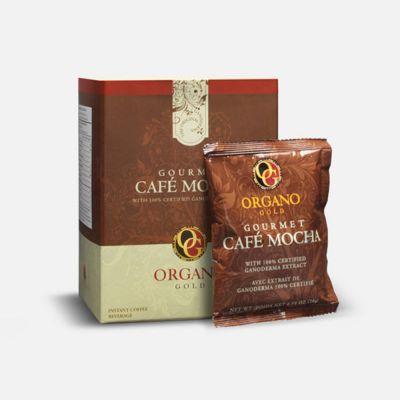 ORGANO GOLD Gourmet Cafe Mocha Coffee With Ganoderma Lucidum (15 Sachets per Box) - skroutz.com.cy
