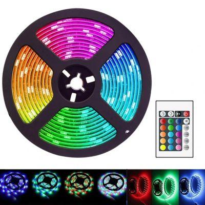 Έξυπνη LED Ταινία 5 Μέτρα IP20 12V με Ρεύμα - Μπορείτε να Συγχρονίσετε Ήχο! - IP20 RGB LED Light Strip Sound 5 Meter - skroutz.com.cy