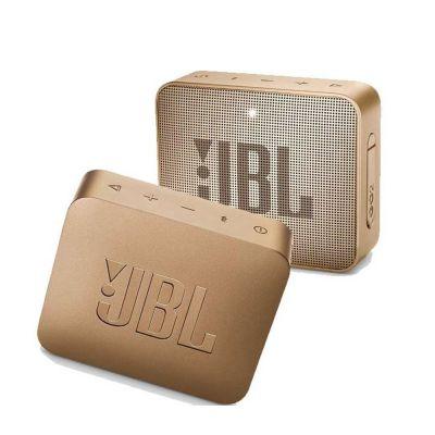 JBL GO 2 Portable Bluetooth Waterproof Speaker, Grey, 4.3 x 4.5 x 1.5 JBLGO2GRY - skroutz.com.cy