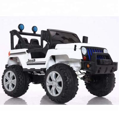 Ηλεκτροκίνητο Όχημα Jeep CAR 6688 WHITE 12V7AH B/O R/C CHILDREN - 1102090 - skroutz.com.cy