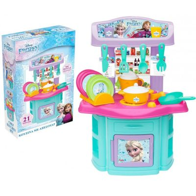 Κουζίνα Disney Frozen II Chef Kitchen Set - FROZEN CHEF KITCHEN 03565WD - 1128173 - skroutz.com.cy