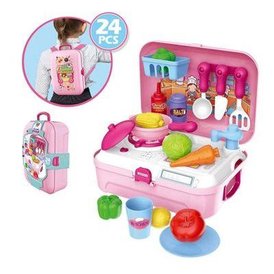 Παιδικό Σακίδιο Πλάτης Playset Κουζίνας - Kitchen Playset Backpack