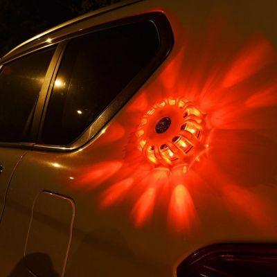 Αδιάβροχος LED Φάρος Έκτακτης Οδικής Ανάγκης με Μαγνήτη - Magnetic LED Emergency Safety Flare Set - Skroutz.com.cy