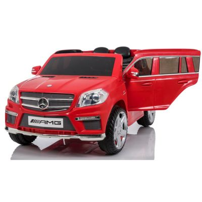 Official Licensed Κόκκινο Mercedes 12 Volts Electric Kids Car with Remote Control - Κόκκινο