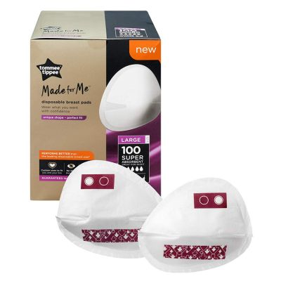 Tommee Tippee Tommee Tippee Made for Me Disposable Breast Pads - 100 pads