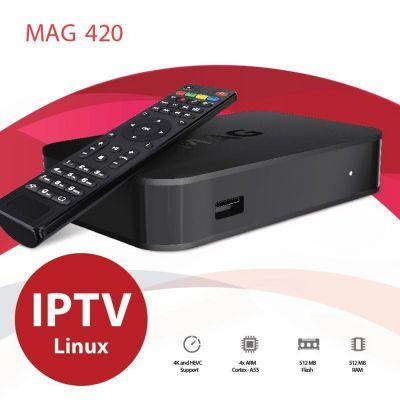 Δέκτης Infomir MAG420 set-top box MAG420 - skroutz.com.cy