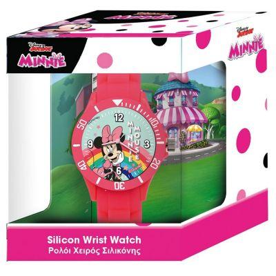 Ρολόι Χειρός Παιδικό Disney Minnie Mouse Αναλογικό με Σιλικόνη σε Κουτί Δώρου - 562563 Silicone Children's Watch Walt Disney Minnie - skroutz.com.cy