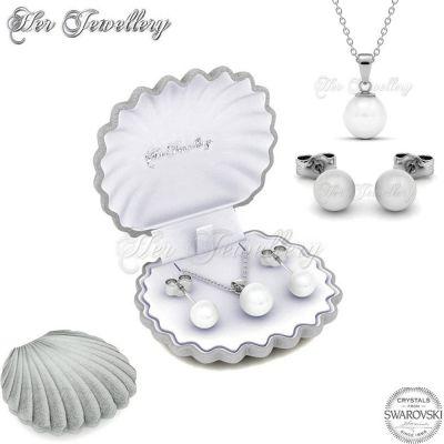 Σετ Κοσμημάτων Mother of Pearl με Κρύσταλλα Swarovski - skroutz.com.cy