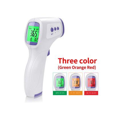 Θερμόμετρο μετώπου ανέπαφης μέτρησης LCD 3 χρωμάτων - skroutz.com.cy