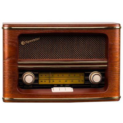 Roadstar Vintage Style HRA-1500/N Home FM/MW Wooden Radio - skroutz.com.cy